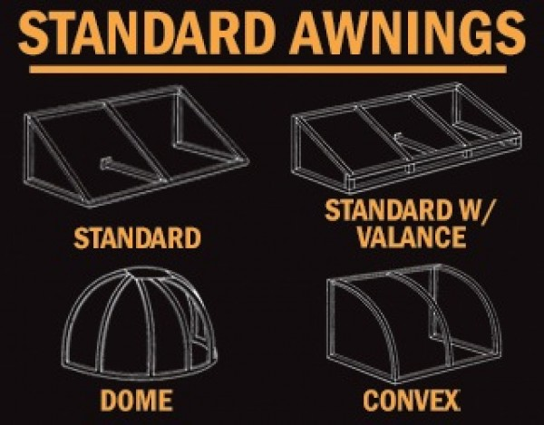 Awning Construction Diagram