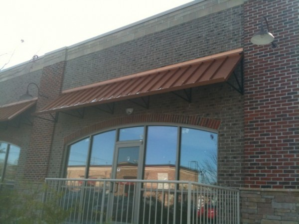 Metal Building Awning