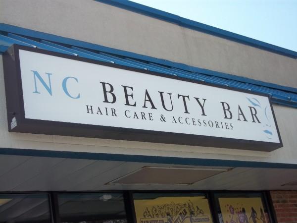 Salon Supplies Sign