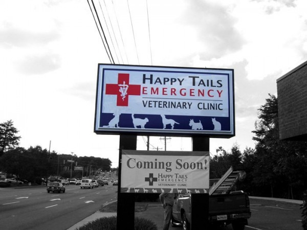 Veterinary Lighted Sign