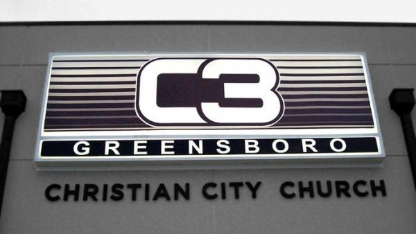 Custom Church Sign
