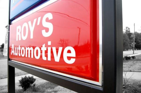 Automotive Shop Sign