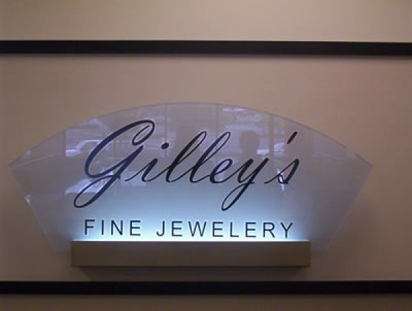 Custom Shaped Lighted Sign
