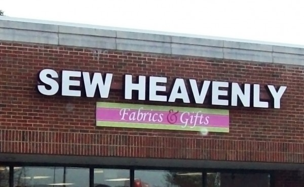 Store Name Letters