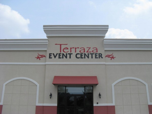 Event Center Entrance Sign