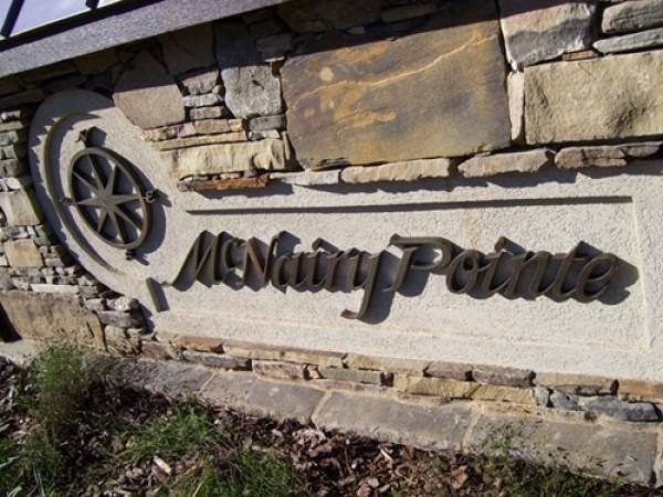 Custom Masonry Work Sign