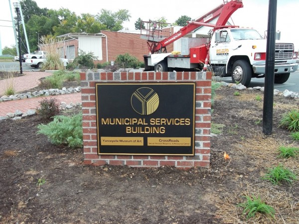 Building Front Sign