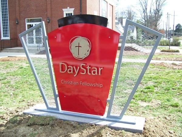 Modern Church Sign