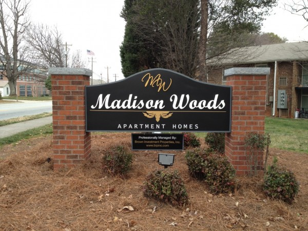 Custom Shaped Monument Sign