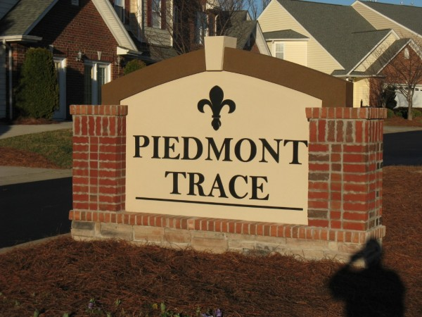 Brick Monument Sign