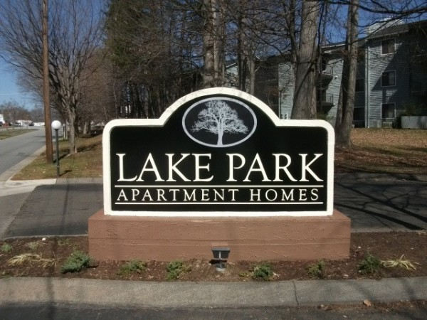 Apartment Homes sign