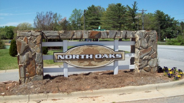 Custom Wood and Stone Sign