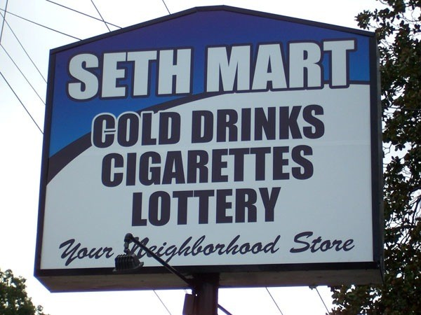 Convenience Store Sign