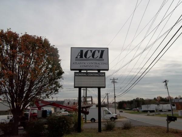 Large Company Sign