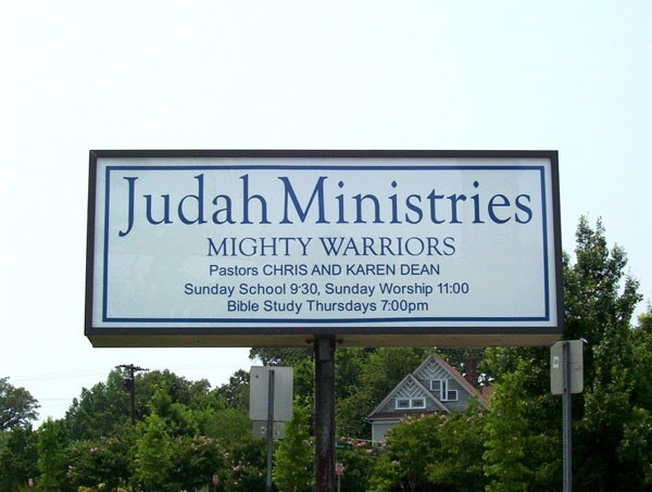 Religious Tall Sign