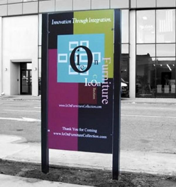 Artistic Company Sign