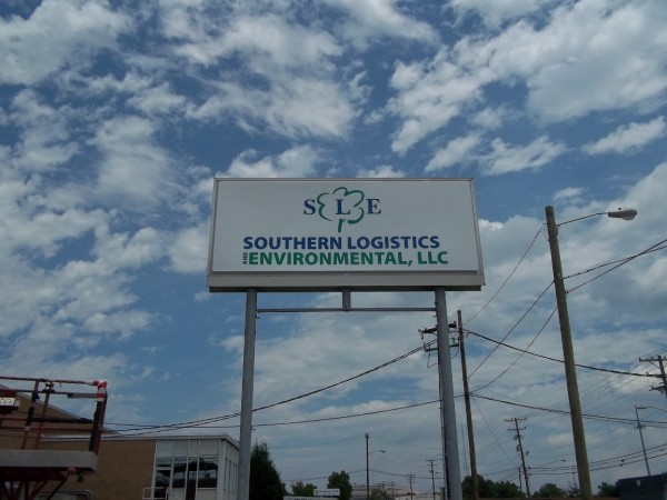 Large Company Sign