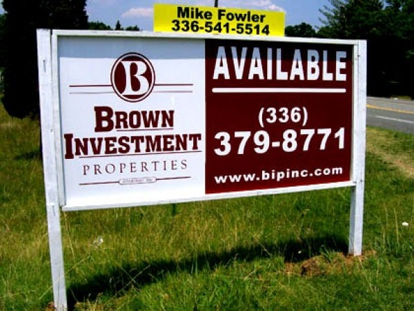 Available Real Estate Sign
