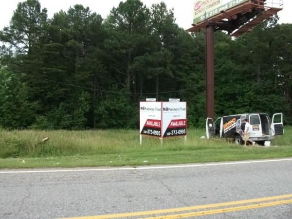 Roadside Real Estate Sign