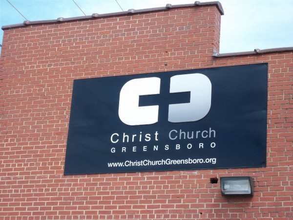 Church Wall Mounted Sign