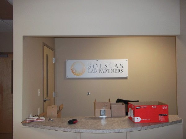 Interior Business Sign