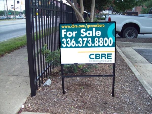 Metal Real Estate Sign